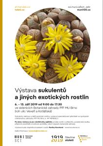 výstava sukulentů Brno